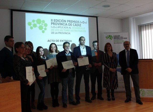 La Fundación Campus Tecnológico entrega los II Premios de I+D+i de la provincia de Cádiz