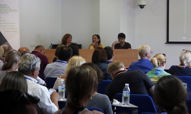 Más de 50 representantes de universidades extranjeras visitan el edificio I+D+i