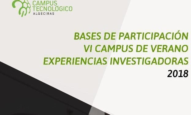 Bases de participación VI Campus de Verano Experiencias Investigadoras