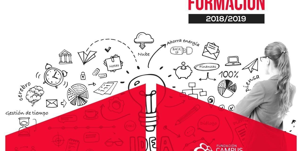 Nuevo Catálogo de Formación para el curso 2018/2019