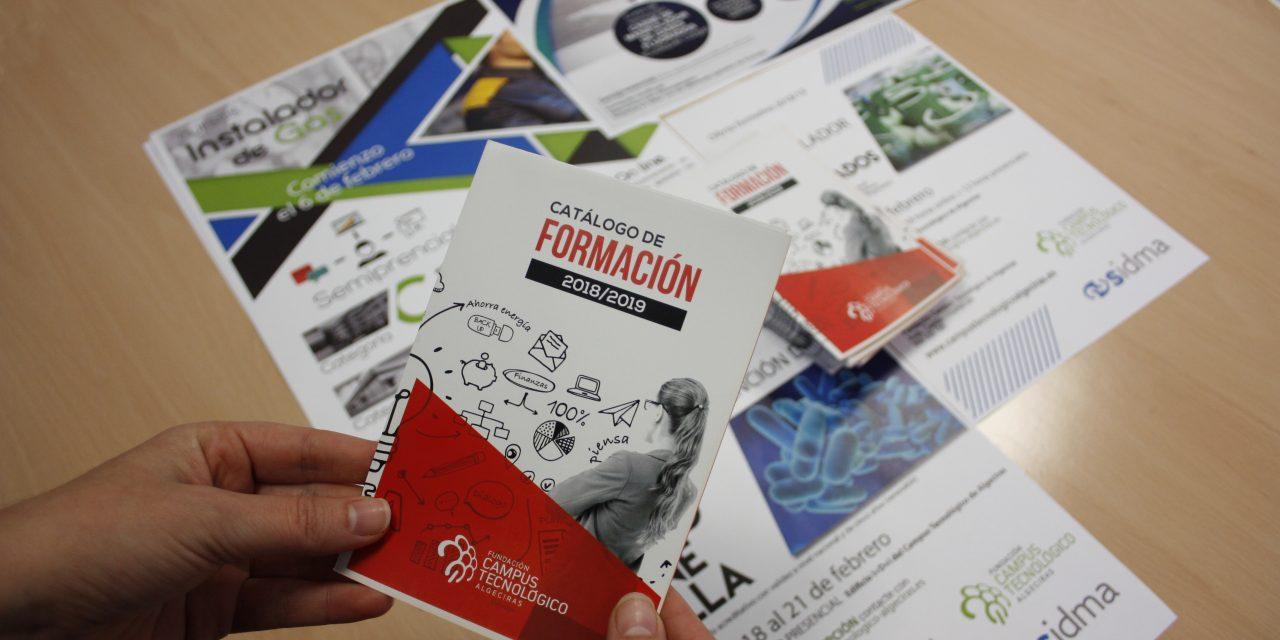 La Fundación Campus Tecnológico de Algeciras lanza nuevos cursos vinculados a las necesidades formativas de los sectores productivos de la comarca