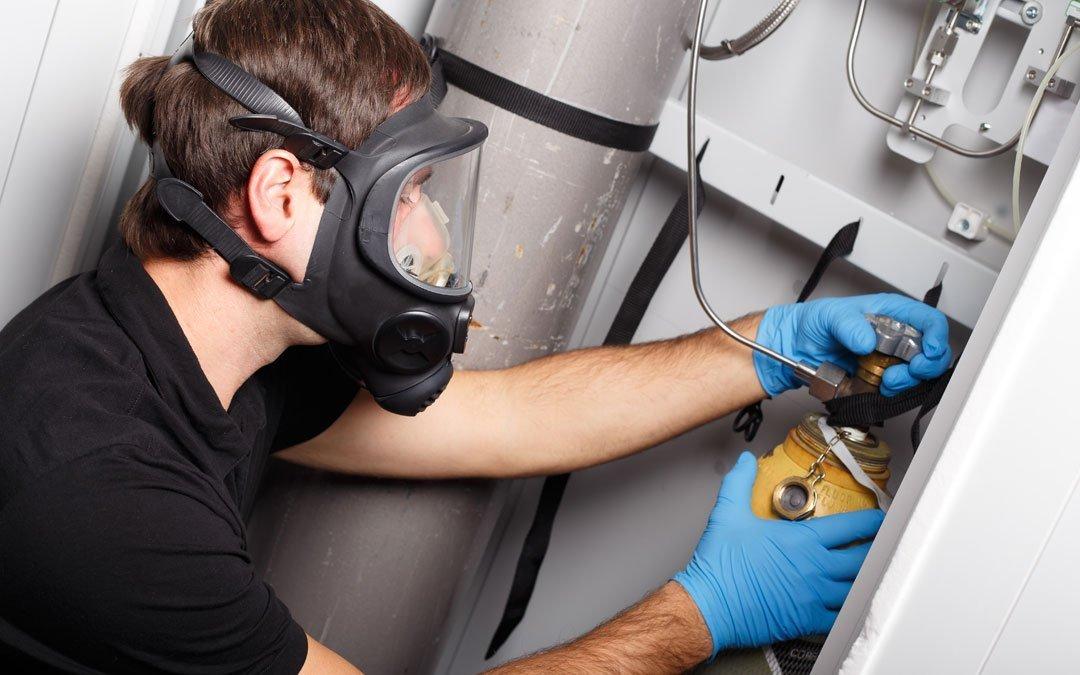 Manipulador de gases fluorados