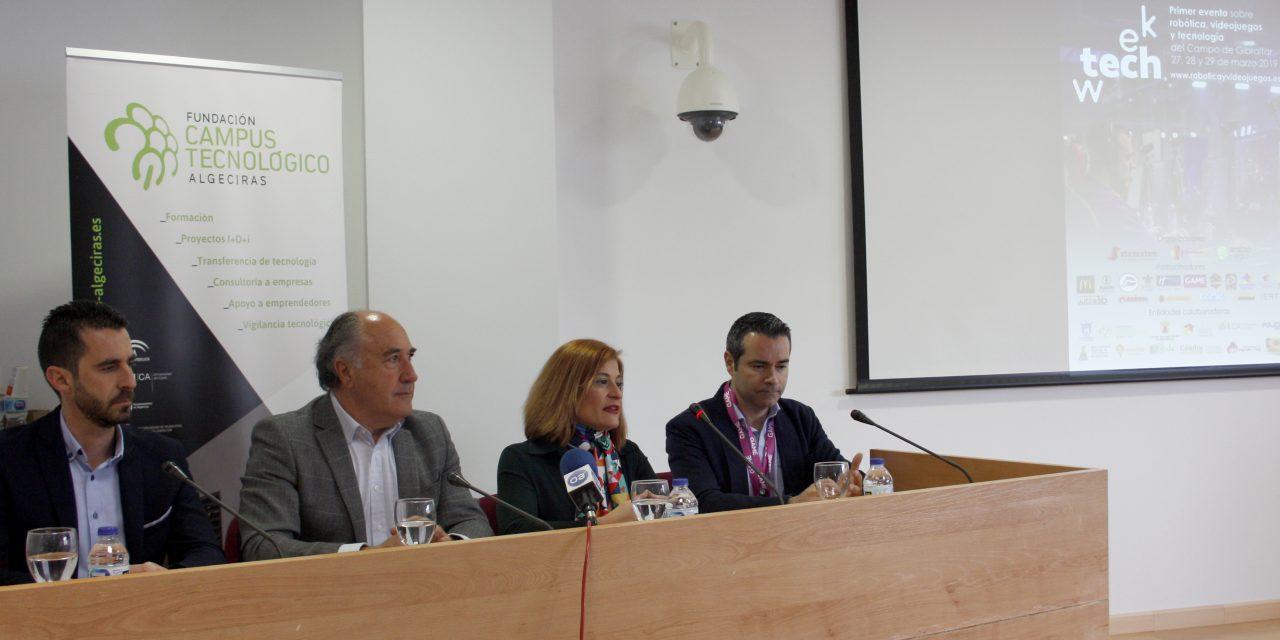 Arranca la I Tech Week Campo de Gibraltar en Algeciras y San Roque