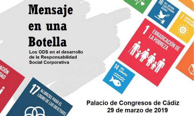 """Encuentro empresarial """"Mensaje en una botella"""": los ODS y la Responsabilidad Social Corporativa"""