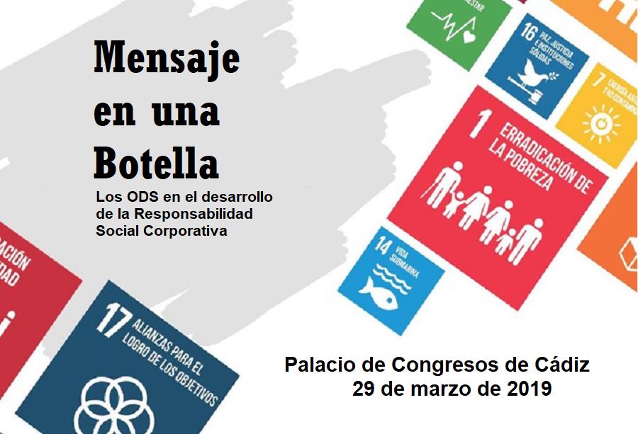 Encuentro empresarial «Mensaje en una botella»: los ODS y la Responsabilidad Social Corporativa
