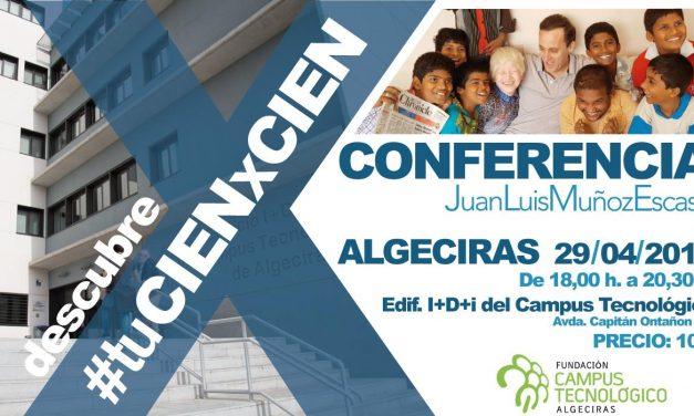 Conferencia 'Descubre #tuCIENxCIEN'