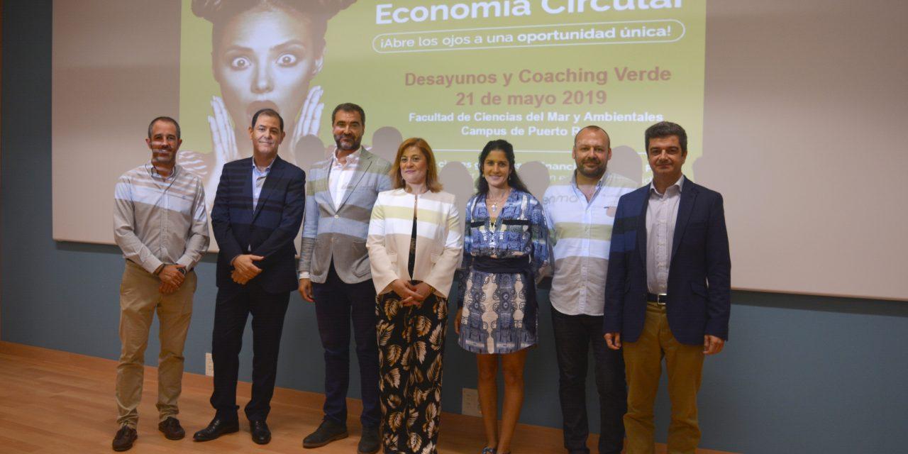 La Fundación Campus Tecnológico de Algeciras celebra un Desayuno y Coaching Verde sobre economía circular en el Campus de Puerto Real