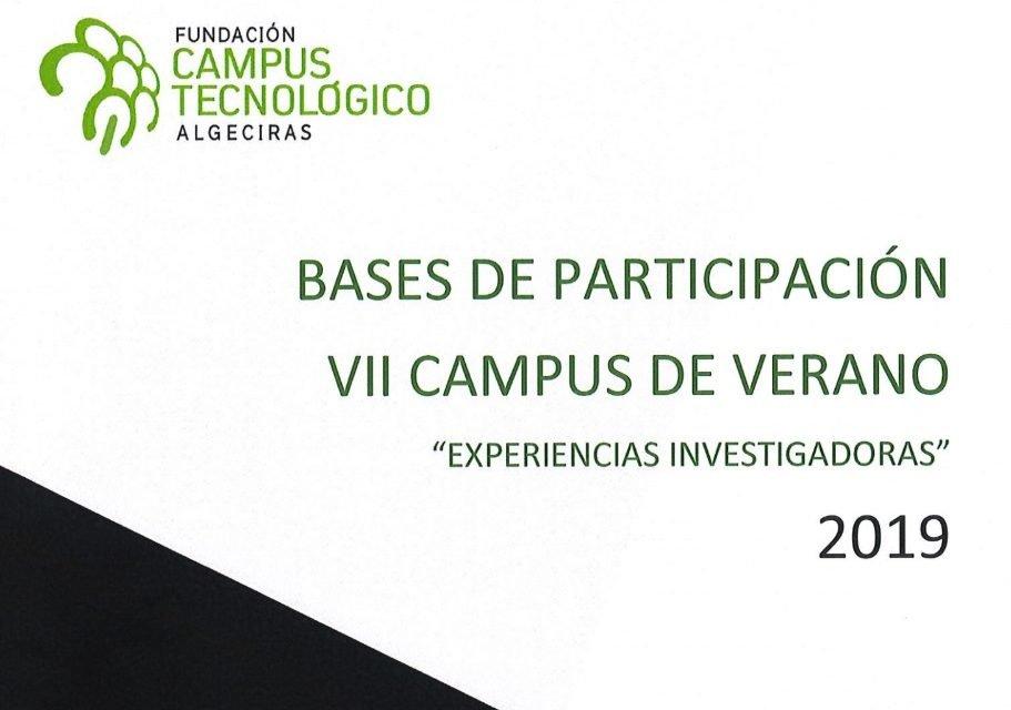 Bases de Participación Campus de Verano Experiencias Investigadoras 2019