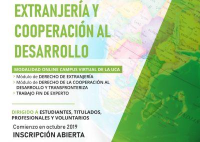 VI Experto Universitario en Derecho de Extranjería y Cooperación al Desarrollo