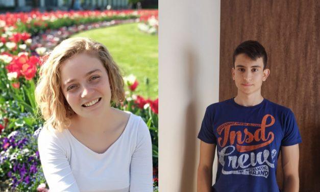 Omar Hamed y Eva Russo, ganadores de dos becas en el extranjero otorgadas la Fundación Campus Tecnológico y Amigos de la Ciencia