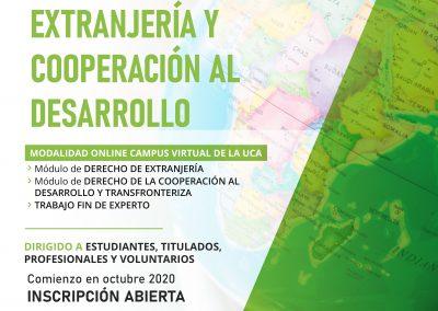 VII Experto Universitario en Derecho de Extranjería y Cooperación al Desarrollo