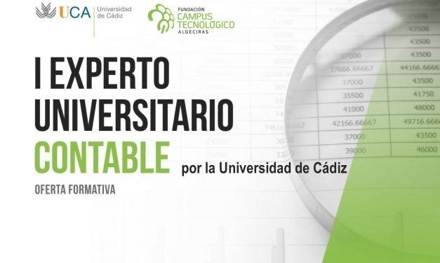 La Universidad de Cádiz y la Fundación Campus Tecnológico ponen en marcha un nuevo Curso de Experto Contable a partir de noviembre