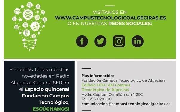 ESPACIO FUNDACIÓN CAMPUS TECNOLÓGICO EN CADENA SER. Martes 15 de abril 2020.
