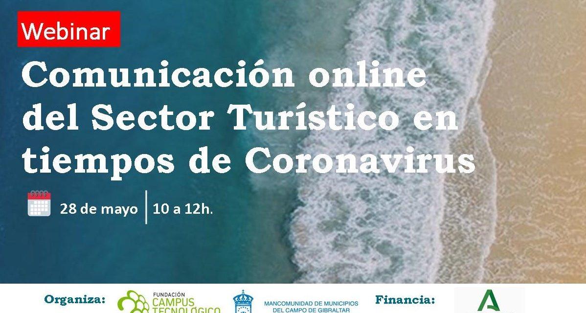 WEBINAR: COMUNICACIÓN ONLINE DEL SECTOR TURÍSTICO EN TIEMPOS DE CORONAVIRUS