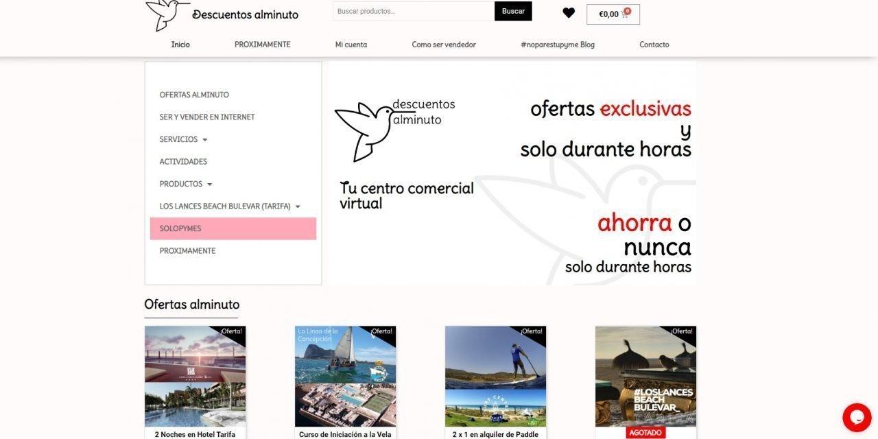 El nuevo centro comercial virtual del Campo de Gibraltar abre sus puertas