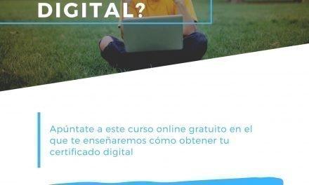 La Fundación Campus Tecnológico y Jóvenes Palante ofrecen un taller online para obtener el certificado digital
