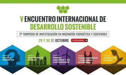 V Encuentro Internacional de Desarrollo Sostenible. 2º Simposio de Investigación en Ingeniería Energética y Sostenible.