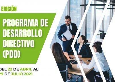II PROGRAMA DE DESARROLLO DIRECTIVO (PDD)